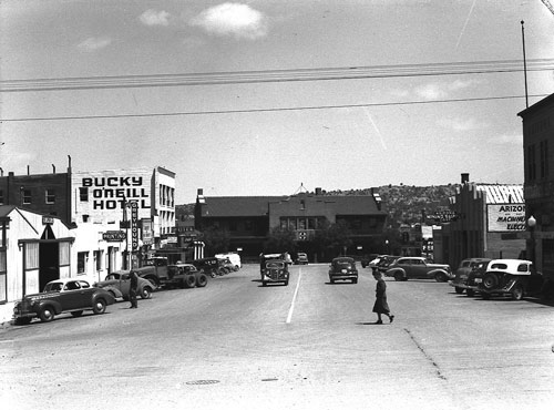 Cortez Street in the 1940's