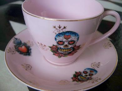 Death Cafe Teacup