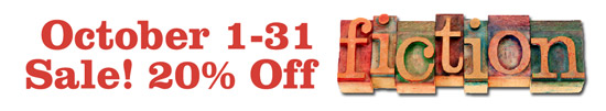 20% Off Fiction during October